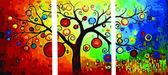 Триптих. Денежное дерево, 50х150см