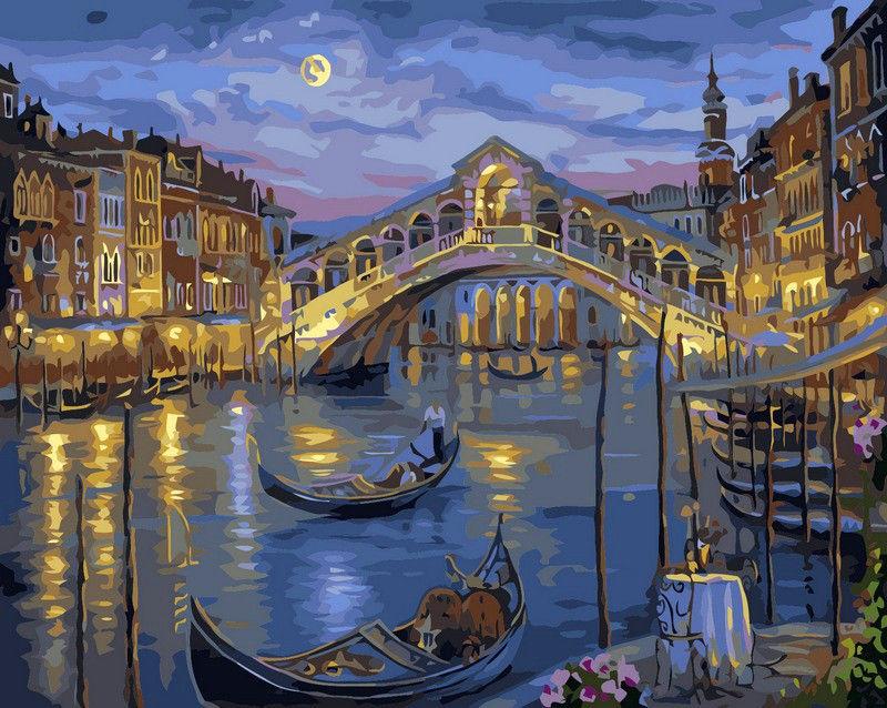 Большой канал Венеции, 40х50см