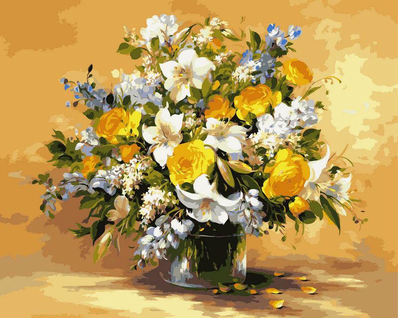 Безупречная красота цветов, 40х50см