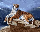 Тигр на рассвете, 40х50см