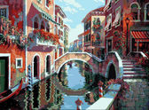 Полдень в Венеции, 40х50см