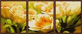 Триптих. Тюльпаны для тебя, 50х150см