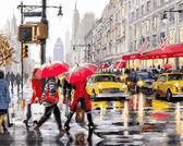 Осень в Нью-Йорке, 40х50см
