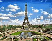 Эйфелева башня весной, 40х50см