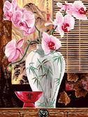 Восточные орхидеи, 30х40см