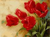 Букет тюльпанов, 30х40см