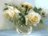 Чайные розы, 30х40см
