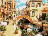 Венецианский мостик, 30х40см