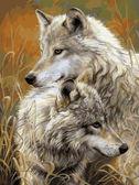 Степные волки, 30х40см