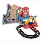 """Игровой набор - ГАРАЖ """"Пожарная станция"""" (2 уровня, 2 машинки, действующий пожарный кран, 1:43)"""