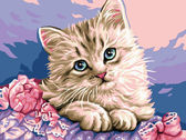 Милый котик, 30х40см