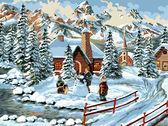Зимние каникулы, 30х40см