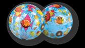 Мяч Мир моря, 23 см от Dema-Stil