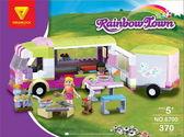 Радужный город Автобус для пикника