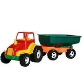 Трактор с прицепом от Maximus