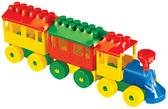 Конструктор - Паровоз с двумя вагонами от Полесье
