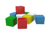 Игрушка кубики Радуга 1 ТехноК от ТЕХНОК