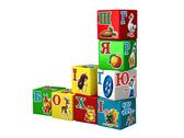 Игрушка кубики Азбука Радуга ТехноК (укр.) от ТЕХНОК