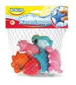 Набор игрушек для купания Жители моря (укр. упаковка), BeBeLino от BeBeLino (Бебелино)