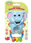 Погремушка Веселое животное Слоненок (укр. упаковка), BeBeLino от BeBeLino (Бебелино)