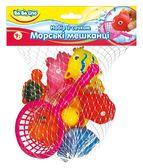 Набор игрушек для купания с сачком Морские жители (укр. упаковка), BeBeLino от BeBeLino (Бебелино)