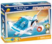 Конструктор Самолет элитного отряда Серевный Ветер, серия The Penguins of Madagascar, Cobi