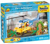 Конструктор Вертолет TV1, серия The Penguins of Madagascar, Cobi