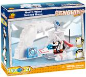 Конструктор Секретная база Северный Ветер, серия The Penguins of Madagascar, Cobi