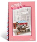 Трехмерная головоломка-конструктор Япония. Тележка с лапшой, CubicFun