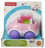 Автомобиль серии Чудо-кубики, Fisher-Price, Машинка розовая от Fisher-Price (Фишер-Прайс)