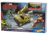 Трек Приключения супергероев, Hot Wheels, Mattel, Халк