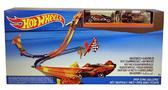 Трек Супергонки, Hot Wheels, Mattel, 2 машинки, фиолетовая и в клетку