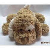 Мягкая игрушка - СОБАКА (коричневая, белое ухо, 56 см) от Grand (Гранд)