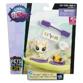Городской транспорт с питомцами, Pets in the City, Littlest Pet Shop, желт. лодка от Littlest Pet Shop Hasbro (Литлест Пет Шоп Хасбро)