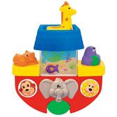 Развивающая игрушка  - ЛОДОЧКА (для игры в ванной) от Kiddieland (Киддиленд)