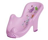 Анатомическая подставка в ванночку Hippo, лиловая. OKT от OKT
