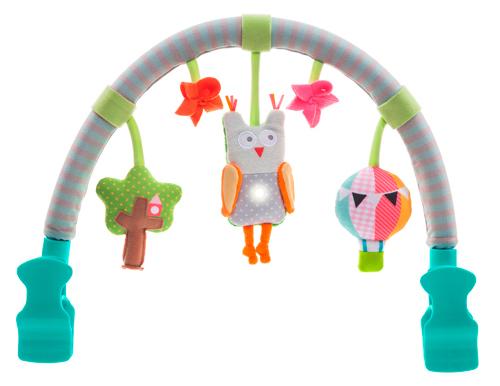 Музыкальная дуга для коляски Лесная сова (звук, свет),Taf Toys