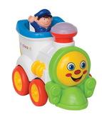 Развивающая игрушка - ВЕСЕЛЫЙ ПАРОВОЗИК (на колесах, свет, звук) от Kiddieland (Киддиленд)