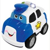 Развивающая игрушка  - ПОЛИЦИЯ (на колесах, свет, звук) от Kiddieland (Киддиленд)
