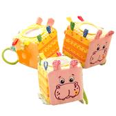 Мягкая игрушка Подвеска-кубик Зоо Бегемот Добряк (MK5101-02), Масик, Vladi Toys от Масик
