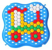Развивающая игрушка Мозаика мини синяя, Тигрес, синий от Тигрес