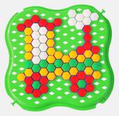 Развивающая игрушка Мозаика мини зеленая, Тигрес, зеленый от Тигрес