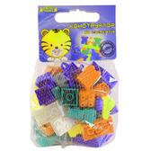 Конструктор 50 элементов (фиолетовый, оранжевый, бирюзовый). Тигрес, Фиолетовый, оранжевый, бирюзовый от Тигрес