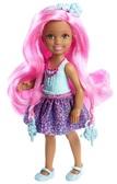 Кукла Челси серии  Сказочно - длинные волосы  , розовые волосы