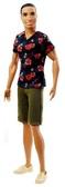 Кукла Кен  Модник  в асс . (2), в зеленых шортах , футболка с цветком