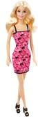 Кукла Барби Супер стиль , в розовом платье, эмблема барби