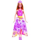 Кукла принцесса Барби, серия Миксуй и комбинируй, Barbie, Mattel, Розовое платье