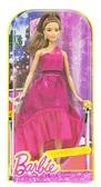 Кукла Barbie Розовая изысканность , шатенка в блестящем платье