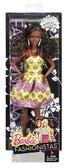 Кукла Barbie Модница в асс. (6) обновл . , Темная кожа, желтое платье с принтом