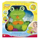 Игрушка для купания Забавный лягушонок (укр. упаковка) - набор, BeBeLino от BeBeLino (Бебелино)